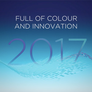 PVL wishes you a 2017 full of colour and innovation